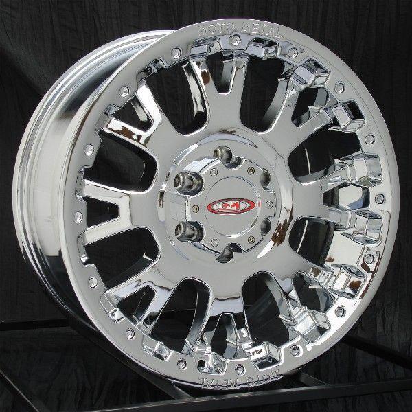 17 inch Chrome Wheels/Rims Chevy GMC 6 Lug 1500 Truck