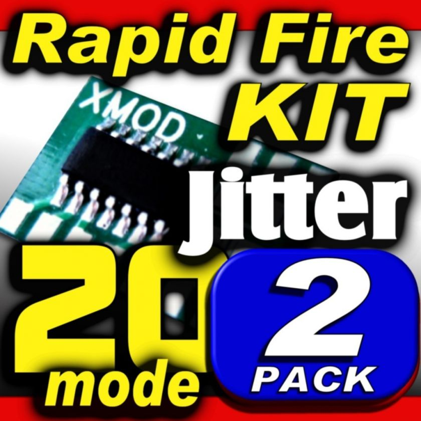 XMOD Rapid Fire Kit  20 mod  2 PK @ JITTER @ DROP SHOT
