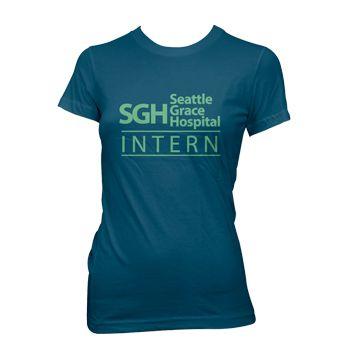 SEATTLE GRACE HOSPITAL T Shirt greys anatomy WOMENS