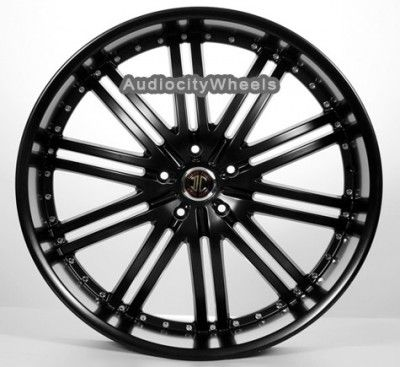 24inch Rims Wheels Chevy Ford Ram Tahoe Escalade Yukon QX56 Silverado