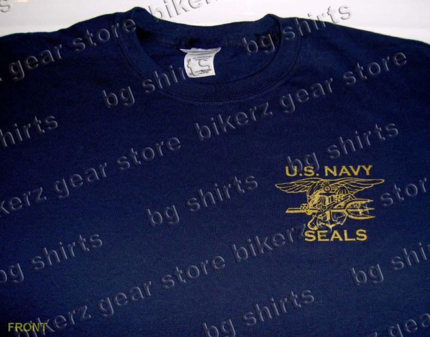 NAVY SEALS Spec Ops S/S T shirt XL SOCOM