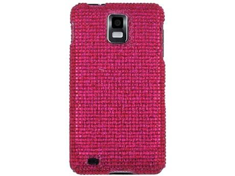 RHINESTONE BLING CASE COVER SAMSUNG INFUSE i997 H PINK
