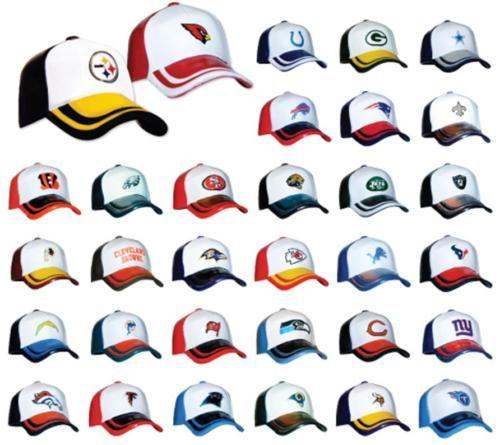 NFL PREMIUM MINI LOGO CAPS HATS 32 TEAMS (not helmets)