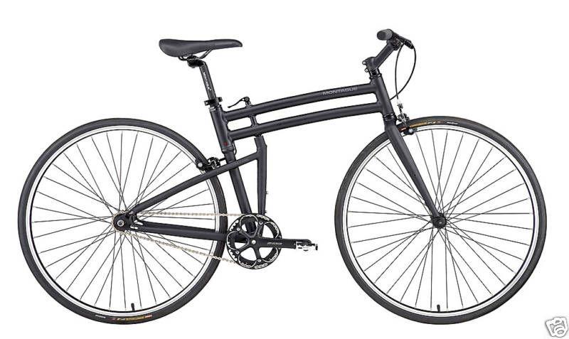 2012 Montague BOSTON   Folding Single Speed Bike